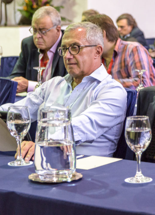Dr. Eduardo de Freitas, General Director of AGADU and President of the Governing Body of the Latin Committee of CISAC.
